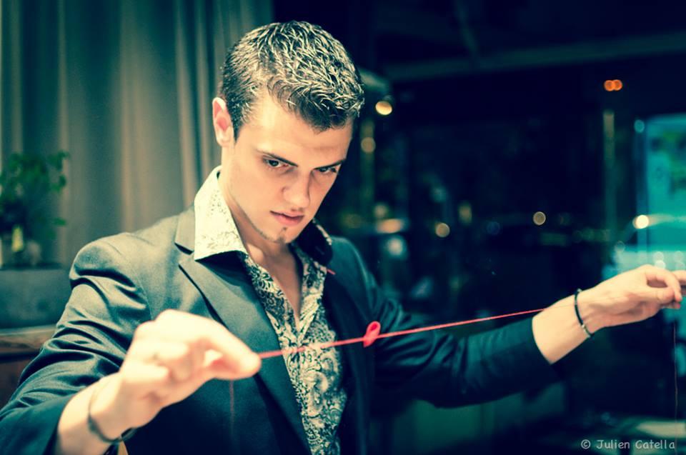 Christian Catella, Magicien